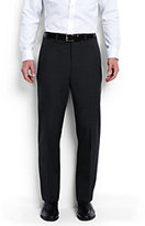 Classic Men's Tailored Fit Wool Year'rounder Dress Trousers-White