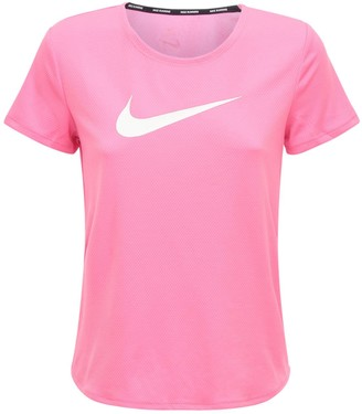 Nike Logo Print Tech Running T-shirt