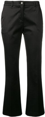 Pt01 Black Cropped Trousers