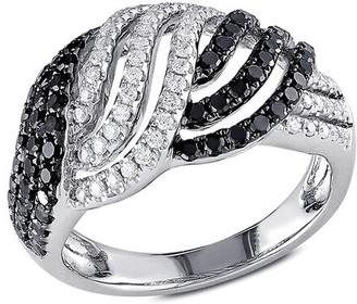 Rina Limor Fine Jewelry 14K 1.00 Ct. Tw. Diamond Triple Row Twist Ring