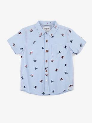 Sovereign Code Boys Crystal Cove Button Down Shirt
