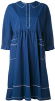MAISON KITSUNÉ 'Maiko' flowing dress - women - Cotton - 36