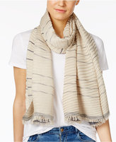 MICHAEL Michael Kors Pleated Metallic Scarf