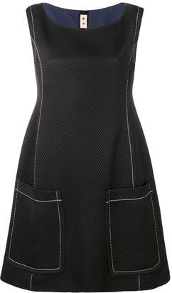 Marni contrast stitch dress