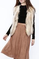 love token Raccoon Fur Vest