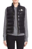 Moncler 'Ghany' Water Resistant Shiny Nylon Down Puffer Vest