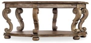 Hooker Furniture Solana Hexagonal Cocktail Table