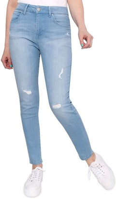 Seven7 Women's Ultra High-Rise Sculpted Skinny Jeans