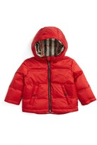 Burberry Infant Girl's Rio Hooded Puffer Jacket
