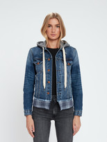 NSF Adams Distressed Denim Jacket