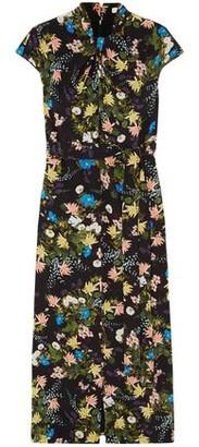 Erdem Finn Floral-print Silk-crepe Midi Dress