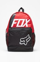 Fox Kick Stand Red Laptop Backpack