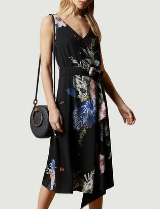 Ted Baker Jamboree Trini sleeveless stretch-woven midi dress