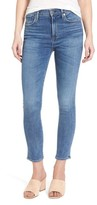 A Gold E Women's Agolde Sophie High Waist Crop Skinny Jeans