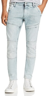 G Star Rackam Skinny Fit Jeans in Ultra Light Aged