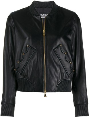 Boutique Moschino Crown Bomber Jacket