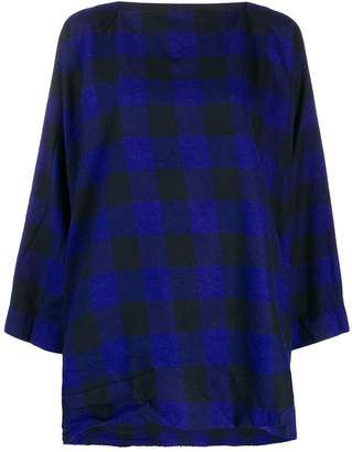 Daniela Gregis check tunic top
