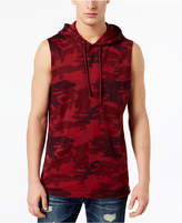 American Rag Men's Hooded Camo Tank, Created for Macy's