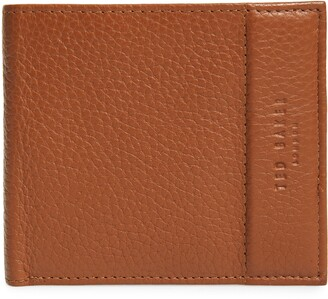Ted Baker Carabas Coin Pocket Leather Bifold Wallet