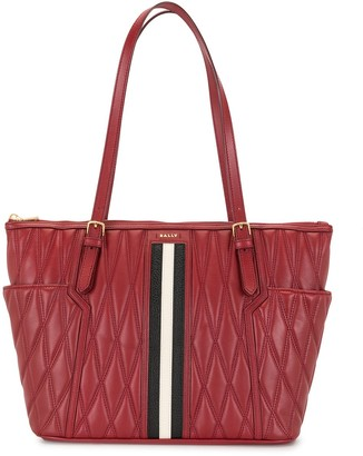 Bally Damirah quilted leather tote bag