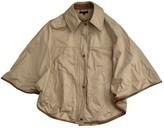 Tommy Hilfiger Beige Cotton Jacket for Women