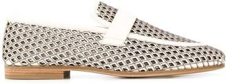 Brunello Cucinelli Perforated Design Loafers