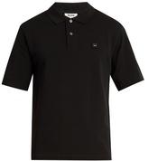 Acne Studios Flaco Face cotton polo shirt
