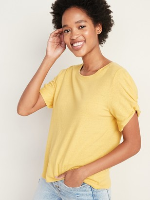 Old Navy Relaxed Twist-Sleeve Tee for Women