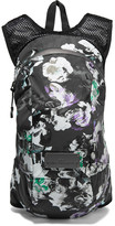 adidas by Stella McCartney Floral-print Shell And Mesh Backpack - Black