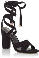 Lipsy Wrap Tie Up Sandals