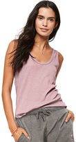 PINK Ribbed Low Back Tank