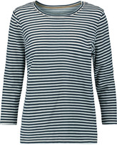 Current/Elliott The Gameday striped cotton-jersey top