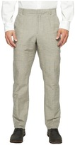 Perry Ellis Slim Fit Linen Cotton End on End Dress Pants Men's Casual Pants