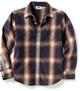 Old Navy Classic Plaid Pocket Shirt for Boys