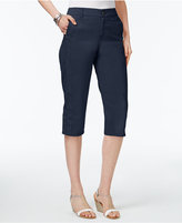 Style&Co. Style & Co Petite Snap-Hem Capri Pants, Created for Macy's
