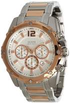 GUESS GUESS? Men's U0165G2 Two-Tone Stainless-Steel Quartz Watch with Dial