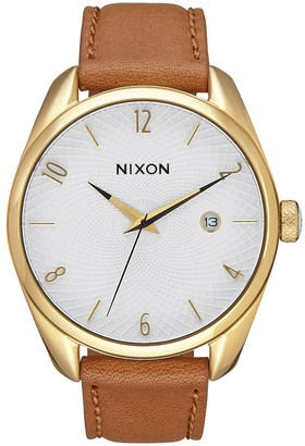 Nixon Womens Analogue Quartz Watch with Leather Strap A473-1425-00