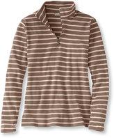 L.L. Bean French Sailor's Shirt, Quarter-Zip Pullover