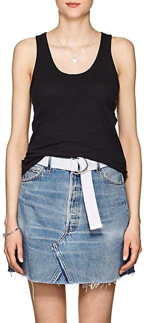 Rag & Bone Women's Slub Pima Cotton Tank - Black