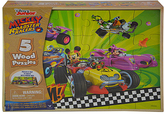 Disney Mickey & the Roadster Racers Five-Pack Wood Puzzle Set