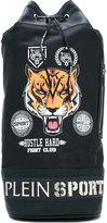 Plein Sport - 72 backpack - men - Leather/Nylon - One Size