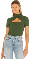 Thumbnail for your product : BCBGMAXAZRIA Knit Mock Neck Top