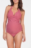 Women's Seraphine 'Lila' Two-Piece Tankini Maternity Swimsuit