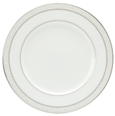 "Noritake Montvale Platinum"" Dinner Plate"