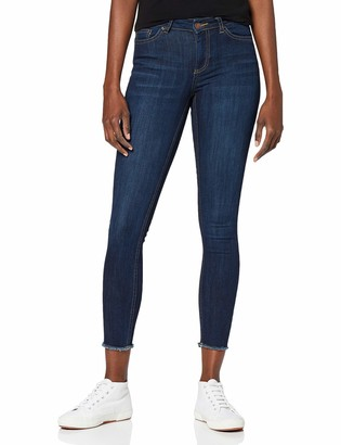 Pieces Women's Pcfive Delly B157 Mw Skn Cr D Ind/noos Skinny Jeans