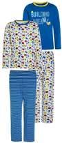 Mothercare BOYS BUILDING DREAMS VALUE 2 PACK Pyjama set blue