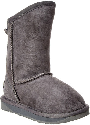 Australia Luxe Collective Kids' Dita-Gray Suede Boot
