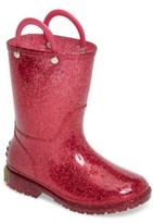 Western Chief Toddler Girl's Glitter Rain Boot