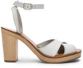 K. Jacques Figuier Sandal in Pul Blanc   FWRD