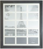 Linea Black Wood 15 Aperture Photo Frame